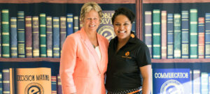 Ann-Meyers-Drysdale-and-jazmine Hall Elevate Phoenix youth charity