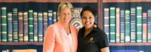 Ann-Meyers-Drysdale and Jazmine-Hall, Elevate Phoenix children's charity