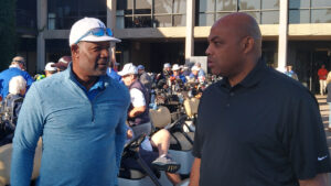 Charles-Barkley and Dennis-Hasbert guests Elevate Phoenix youth charity golf tournament