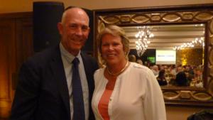 Tom Lehman Anne Meyers Drysdale, board members, Elevate Phoenix youth charity