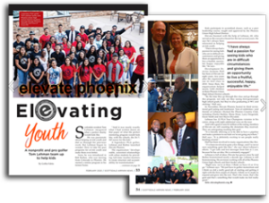 Scottsdale Airpark News features Elevate Phoenix children's charity