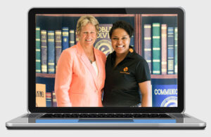 Ann Myers Drysdale, Board member Elevate Phoenix with Jazmine Hall children's charity