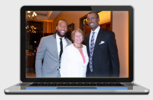 Larry Fitzgerald, Ann Myers Drysdale, Elevate Phoenix youth charity event