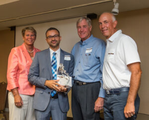 Anne Myers Drysdale, Bob Barbee, Tom Lehman Elevator in Education Awardee youth charity