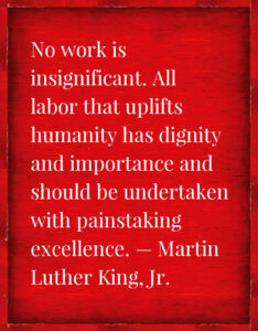 Martin Luther King Jr quote on education - Elevate Phoenix