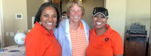 Jazmine Hall, Anne Myers Drysdale and Dalila Gamper with Elevate Phoenix