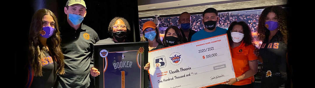 Elevate Phoenix granted $100,000 from Devin Booker